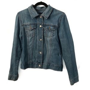 Gap jean jacket medium wash